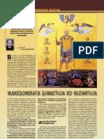 Македонската династија во Византија