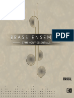 Symphony Essentials Brass Ensemble Manual