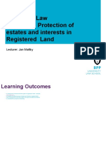 Registered Land
