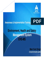 EHS Awareness Training Program Module 1