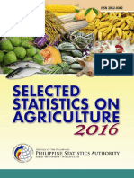 Selected Statistics on Agriculture 2016