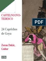 24 Caprichos de Goya