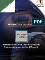 Rapport Veillesalon Industrie Paris 2010