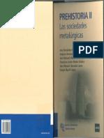 Prehistoria II. Las Sociedades Metalurgicas.- Fernandez, A. Et Al (UNED, 2011)