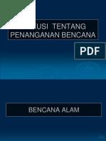 DISKUSI  TENTANG PENANGANAN BENCANA (last session).ppt