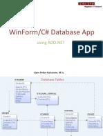 WinForm Database App