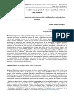 Orden y consenso; cambio y conflicto. Una propuesta de lectura a la sociología política de Emile Durkheim Melina Deangeli