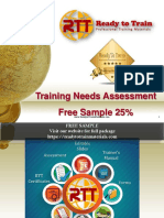 Training Needs Assessment TNA Free Sample