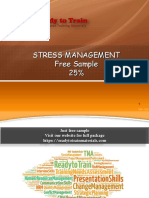 Stress Management Course Free Sample