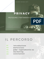 Privacy Ascom Faenza