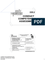 Conduct Competenc y Assessment Handouts