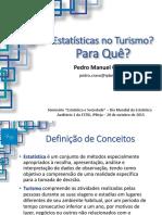 Estatatísticas No Turismo