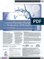 Current Fluoirdes for Reduction Dental Caries