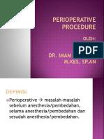 Perioperative Prefaration