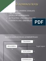 Fungsi Administrasi New 2015