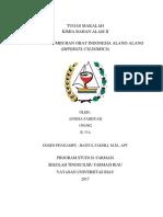 02-Alang Alang (Imperata Cylindrica)-Annisa Fajriyah-1501002
