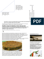 Healthy Recipe for Diabetics_ Chana Dal Pancake _ Read Health Articles & Blo
