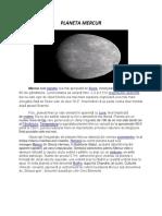 Mercur-GEOGRAFIE
