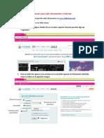 Manual Para Subir Documentos a Internet