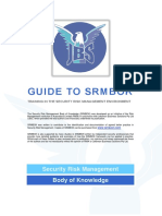 Jbs Guide to SRMBoK - Training