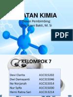 Ikatan Kimia Kelompok 7 Fix
