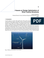 InTech-Special Issues on Design Optimization of Wind Turbine Structures