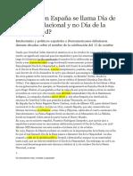 24 Por Qué en España Se Llama Día de La Fiesta Nacional y No Día de La Hispanidad_megoldűsok