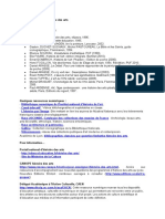 Bibliographie HDA