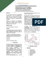 Informe de Laboratorio - Determinación de Curva de Solubilidad