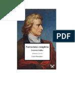 Schiller Friedrich - Narraciones Completas.rtf