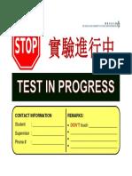 Stop Signboard