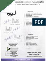 Retentores Especiais Modelo K - Vedabras 11 33521299