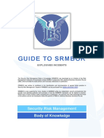 JBS Guide to SRMBOK - Explosives Incidents