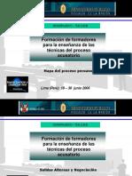 Mapa Del Proceso Peruano