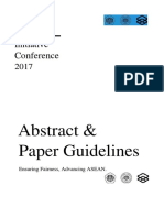 Abstract & Paper Guidelines - AYIC 2017