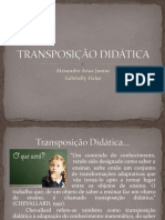 Transposicao Didatica