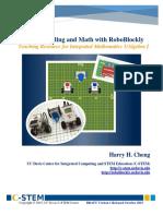 Activities RoboBlockly Algebra