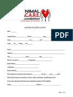 ACF-Dog_Cat Adoption Application