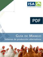 Guia de Manejo Sistemas de Produccion Alternativos (Gallina Isa Brown).