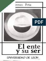 (Duns Escoto)Lorenzo Pena-El Ente y Su Ser Un Estudio Logico Metafisico.searchable