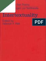 PLETT Heinrich Intertextuality