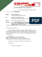 Cartas y Certificado