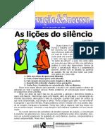 As Lições Do Silêncio