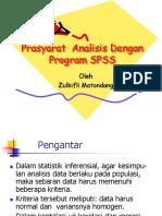 Prasyarat  Analisis (PPT) dengan SPSS.pdf