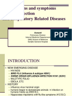 Viral Infection Symptoms&Signs Respiratory Related 20012