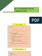 Pauta entrega de trabajo análisis del entorno