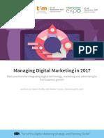 Managing Digital Marketing Smart Insights