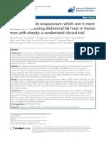 Auricular Treatment Obesity