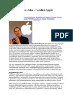 Biografi Steve Jobs