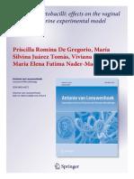 Benefical lactobacilos-2012
